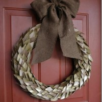 fall cardstock wreath