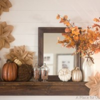 fall-mantel-brown-paper-flowers-from-a-place-for-us-blog