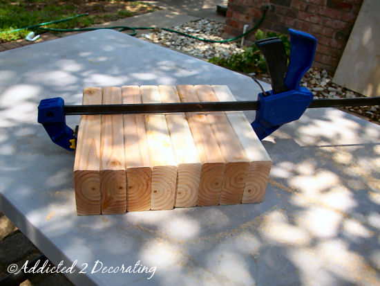 How to build a factory cart style coffee table