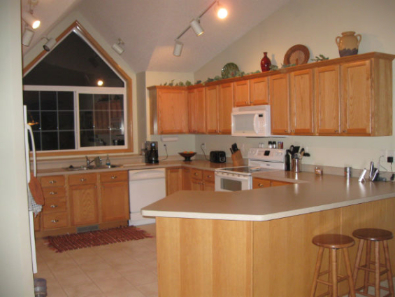 What Wall Paint Color Would Work Best In This Open Kitchen And ...