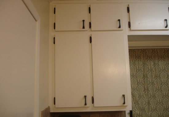 Update Plain Kitchen Cabinet Doors By Adding Moulding