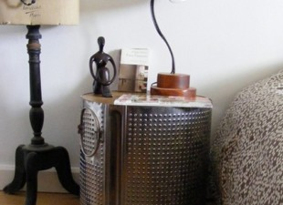 inspiration files--washing machine drum side table
