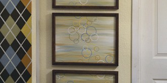 easy modern triptych wall art 01