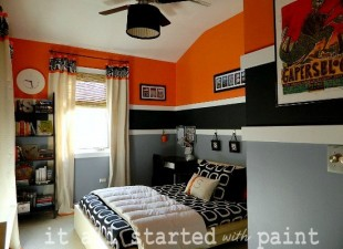 inspiration files--boys bedroom from it all started with paint