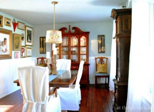 inspiration files--dining room makeover from at the picket fence--after