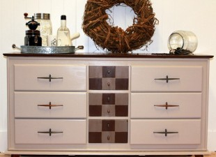 inspiration files--dresser makeover from turnstyle vogue blog