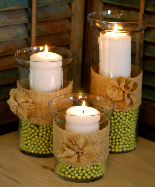 Outstanding Ideas for Hurricane Vase Centerpieces with Burlap 496 x 600 · 331 kB · jpeg