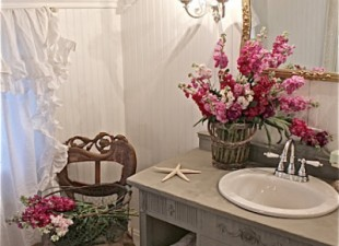 inspiration files--french country bathroom makeover from french country cottage
