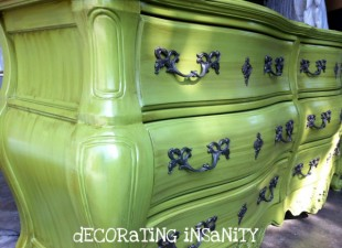 inspiration files--green dresser from decorating insanity--after