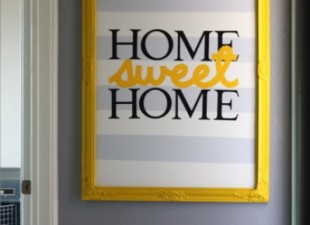 inspiration files--home sweet home wall art from love and renovations