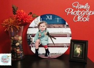 inspiration files--personalized family photo clock--after
