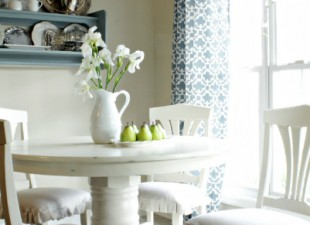 inspiration files--breakfast room makeover from beneath the magnolias