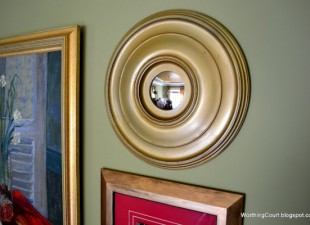 inspiration files--diy convex mirror from worthing court