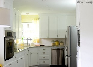 inspiration files--kitchen makeover from its overflowing--after