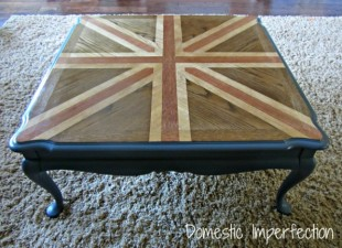 inspiration files--stained union jack coffee table from domestic imperfection