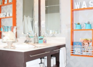 inspiration files--bathroom makeover from remodelando la casa--after