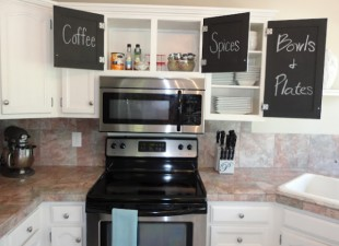 inspiration files--kitchen makeover from live love diy--2