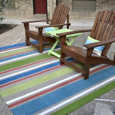 painted outdoor rug 6