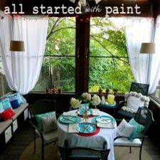 inspiration files--screened in porch from it all started with paint -- after