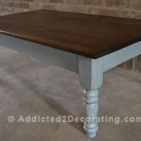 coffee table makeover 13