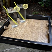 herringbone serving tray - thumbnail