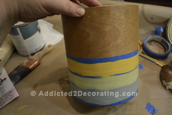 Easy DIY wood veneer vase