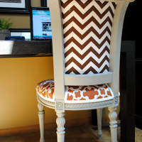 inspiration files - reupholstered chair from sas interiors - after 2