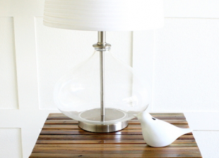 inspiration files - side table makeover from design dining and diapers - after