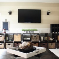 inspiration files - family room makeover from design dining and diapers - after