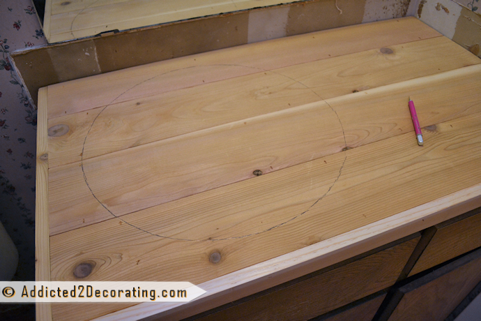 How to make a countertop out of reclaimed wood