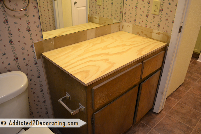 How to make a wood countertop