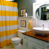 Bathroom makeover from Welcome to Heardmont - after
