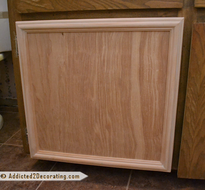 How to make a cabinet door using only basic tools