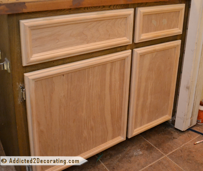 How to make cabinet doors without using fancy tools