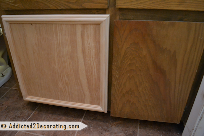 The easy way to make a cabinet door