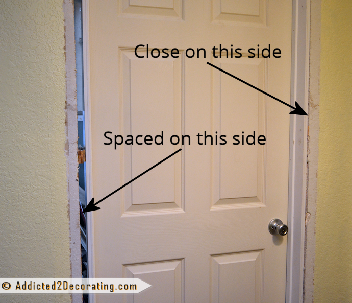 How to install a prehung door - tips from a novice