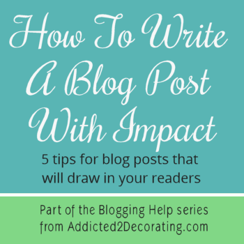 5 Tips For Blog Posts That Will Draw In Your Readers