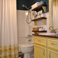 Bathroom makeover after 1