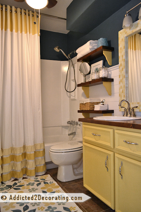 20 Day Small Bathroom Makeover Before And After