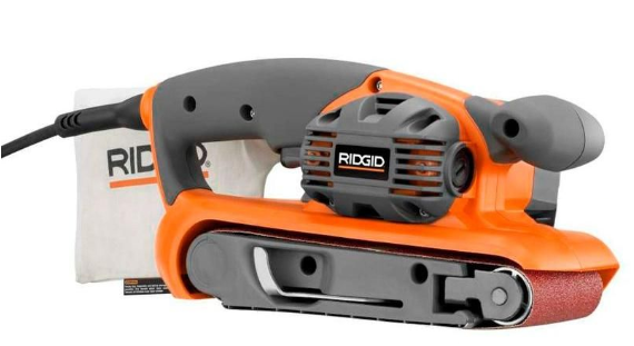Rigid belt sander from Home Depot