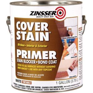 white cover stain oil based interior exterior primer and sealer clinic. Black Bedroom Furniture Sets. Home Design Ideas