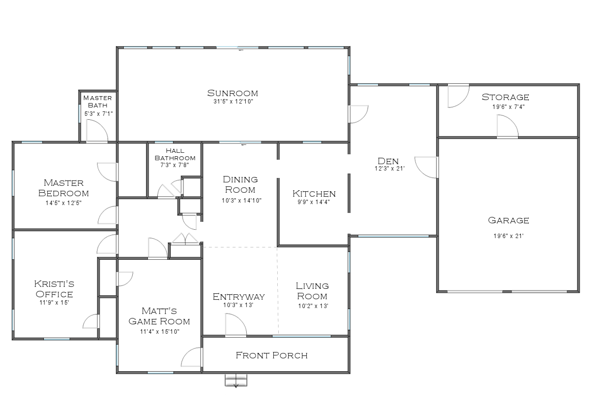 The finalized house floor plan plus some random plans and for Lay out house floor plans