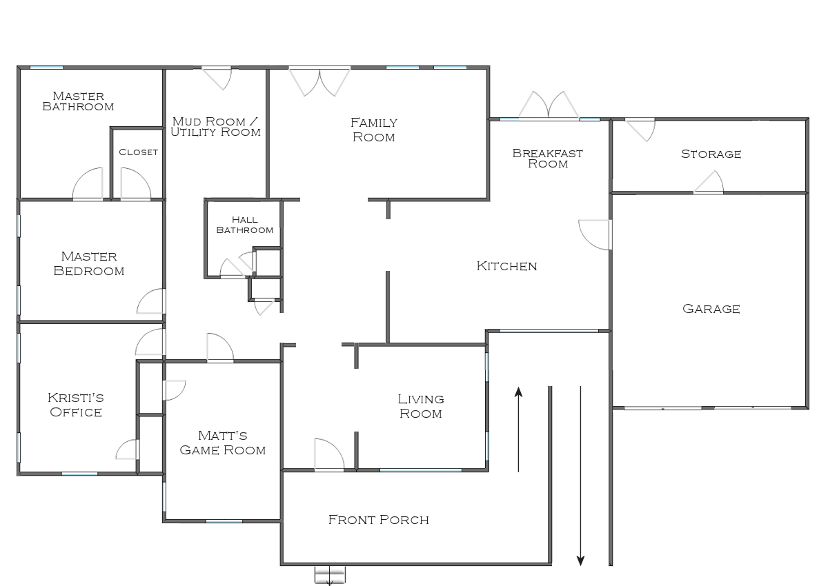 The finalized house floor plan plus some random plans and Planning a house