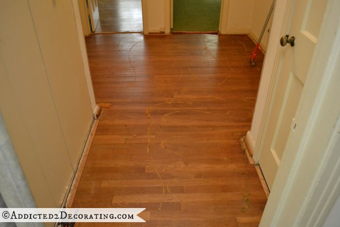 My Diy Refinished Hardwood Floors Are Finished Addicted