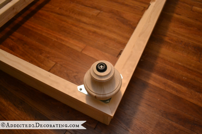 DIY wood bed frame 16