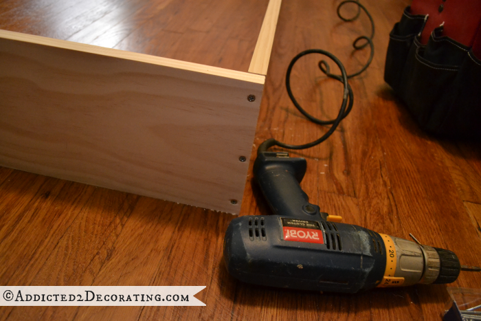DIY wood bed frame 2