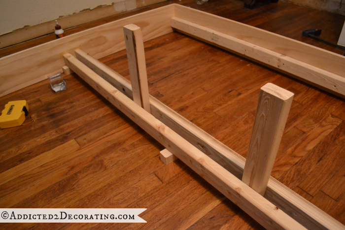 DIY wood bed frame 8