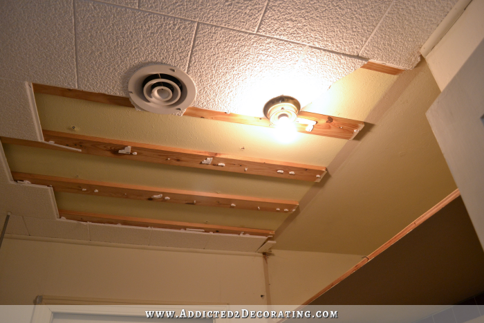 ceiling tiles bathroom demolition the best therapy 12254