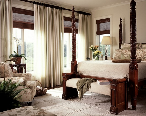 window treatments - intrinsic designs portfolio traditional bedroom via houzz