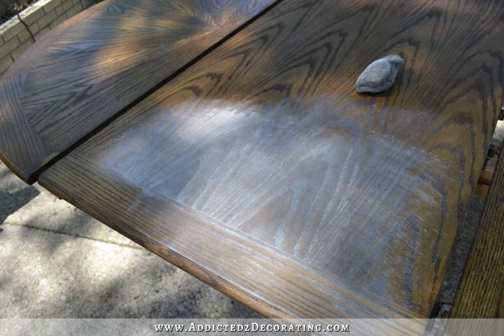 Limed Oak Kitchen Table